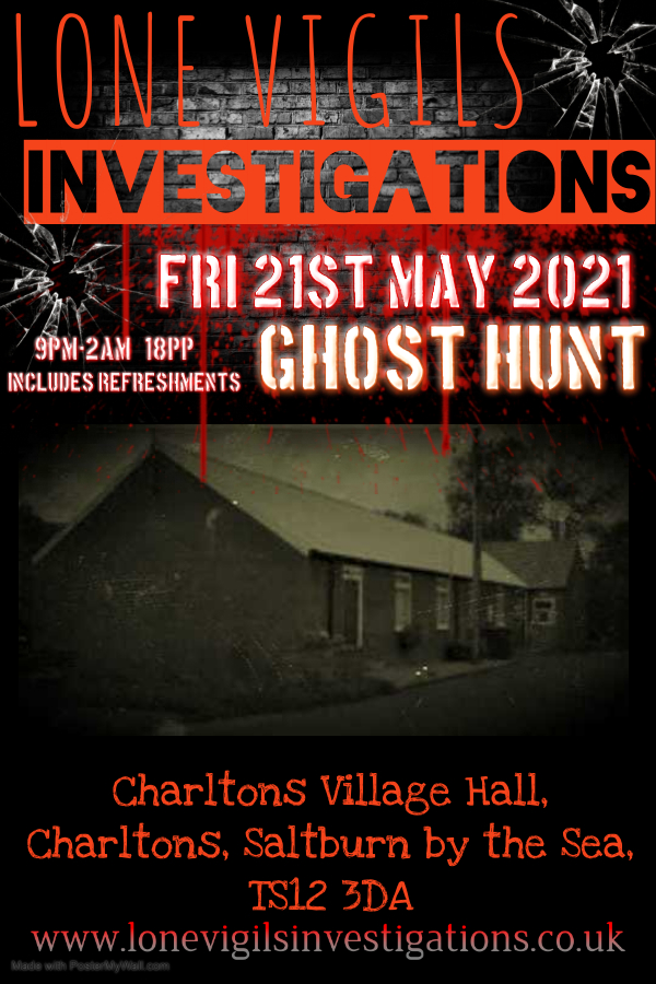Charltons Village Hall Friday 21st May 2021