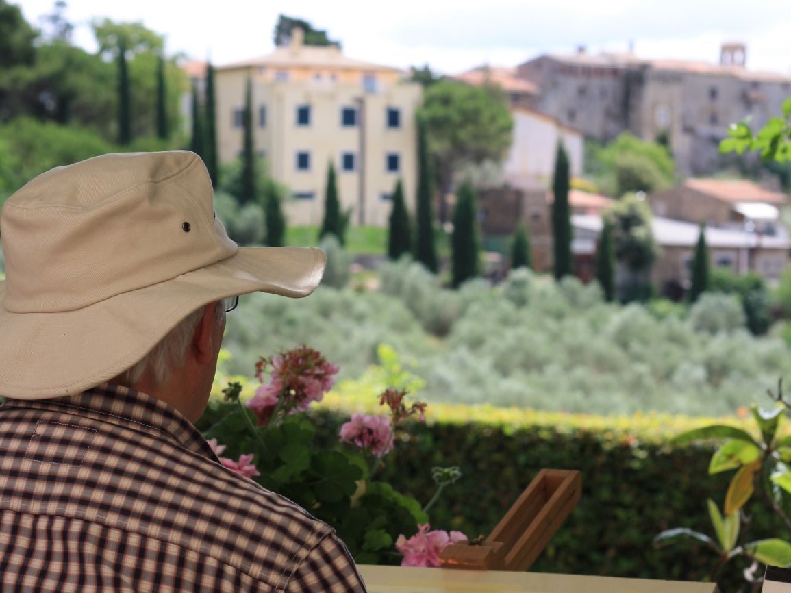 Painting Holiday in Saragano, Umbria