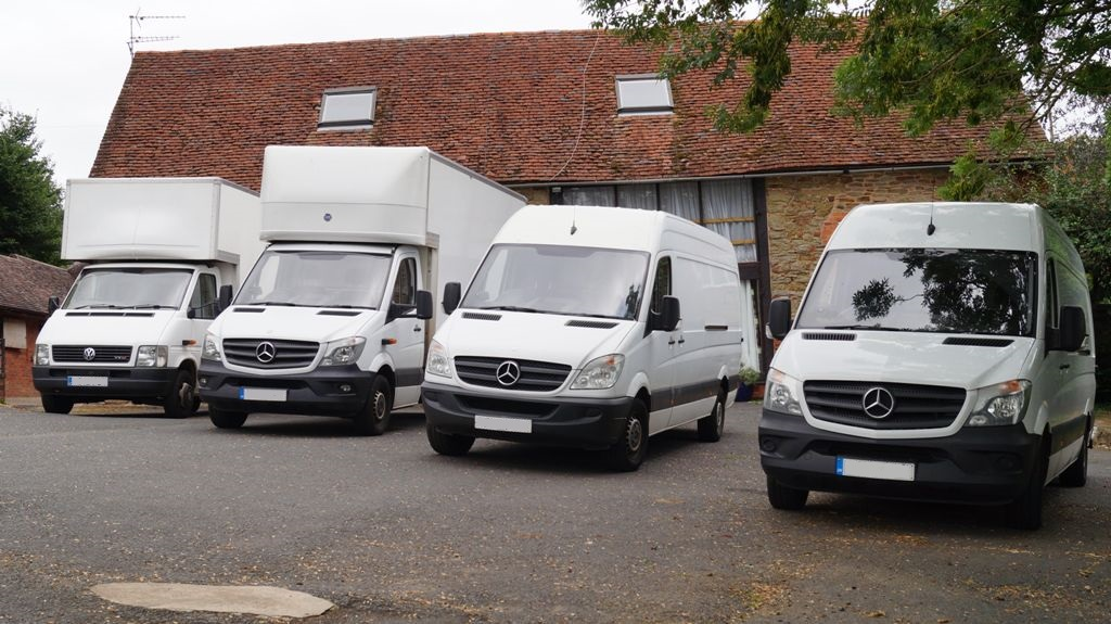 Our WHG Removals Fleet