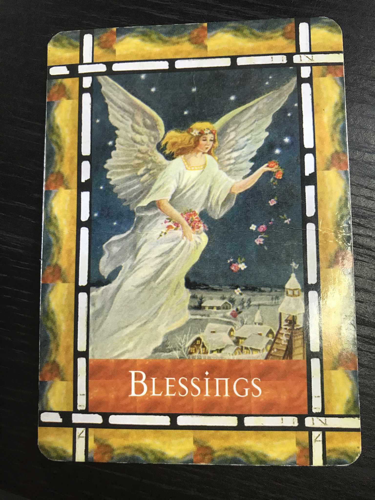 Weekly reading 18th – 24th January 2021 Card: Blessings