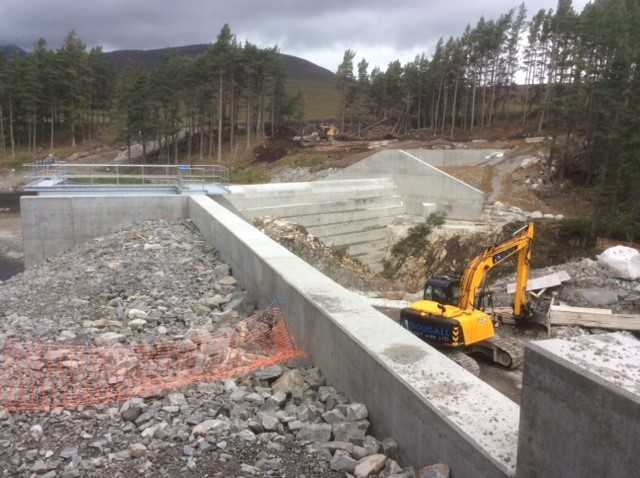 Pattack Hydro Electric Scheme building work supervised by Safety Advisory Services