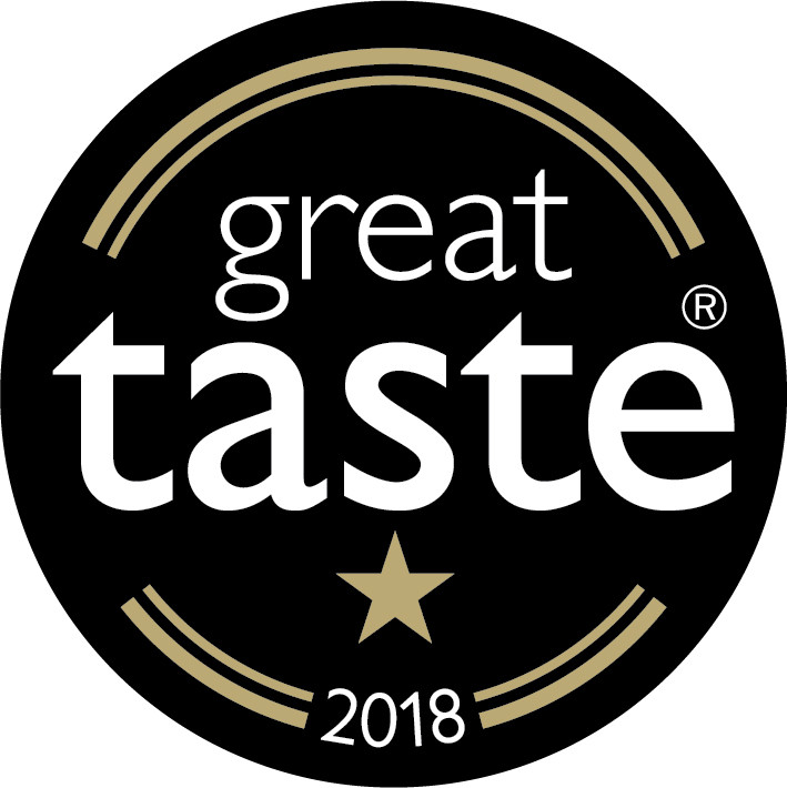 Logo of the Guild of Fine Food Great Taste Award 2018