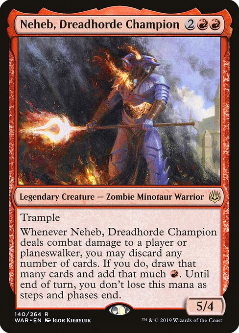 Neheb, Dreadhorde General