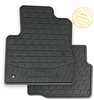 Vauxhall Astra Tailored Rubber Mat Set