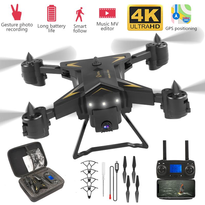 4K Drone 5G RC GPS With Wide Angle HD Camera