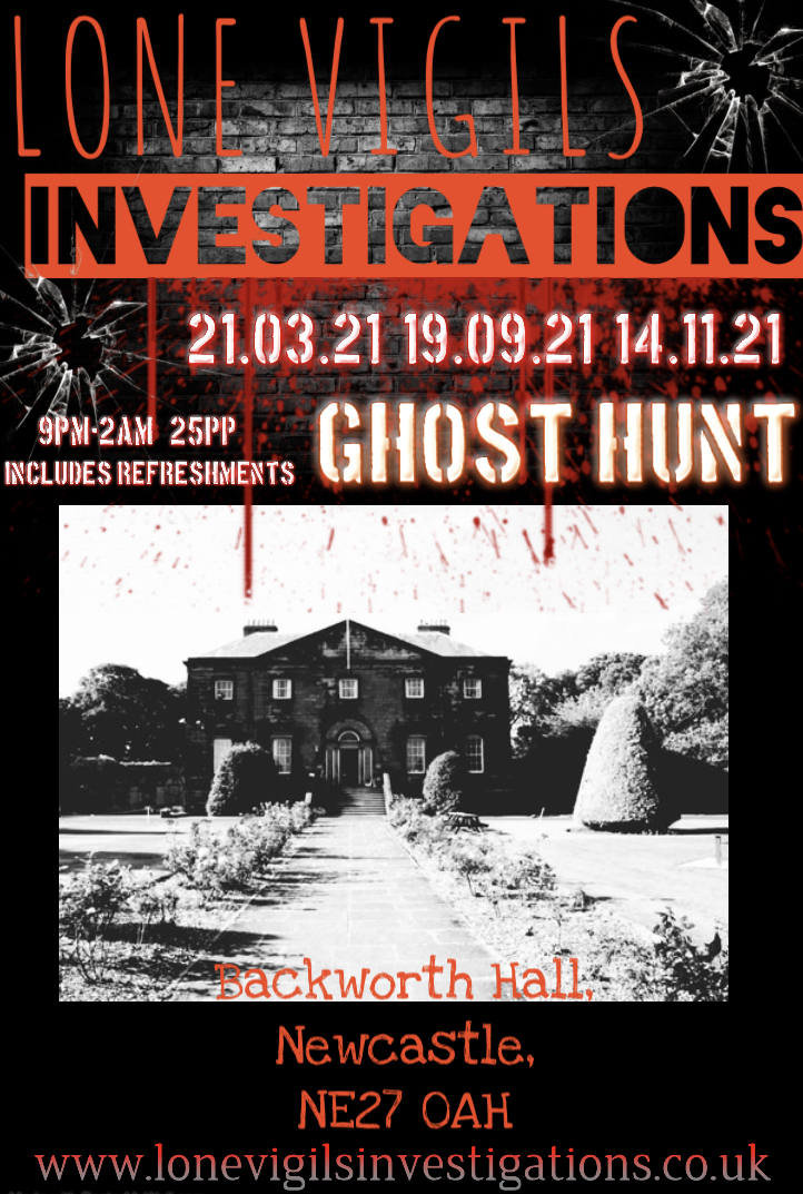 Backworth Hall Sunday 2021Dates