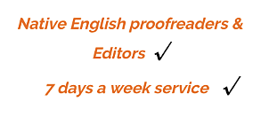 'academic editing and proofreading services'