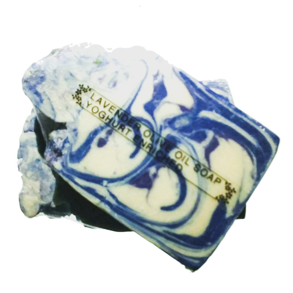 Lavender Olive Oil Soap With Yoghurt. Vegetarian