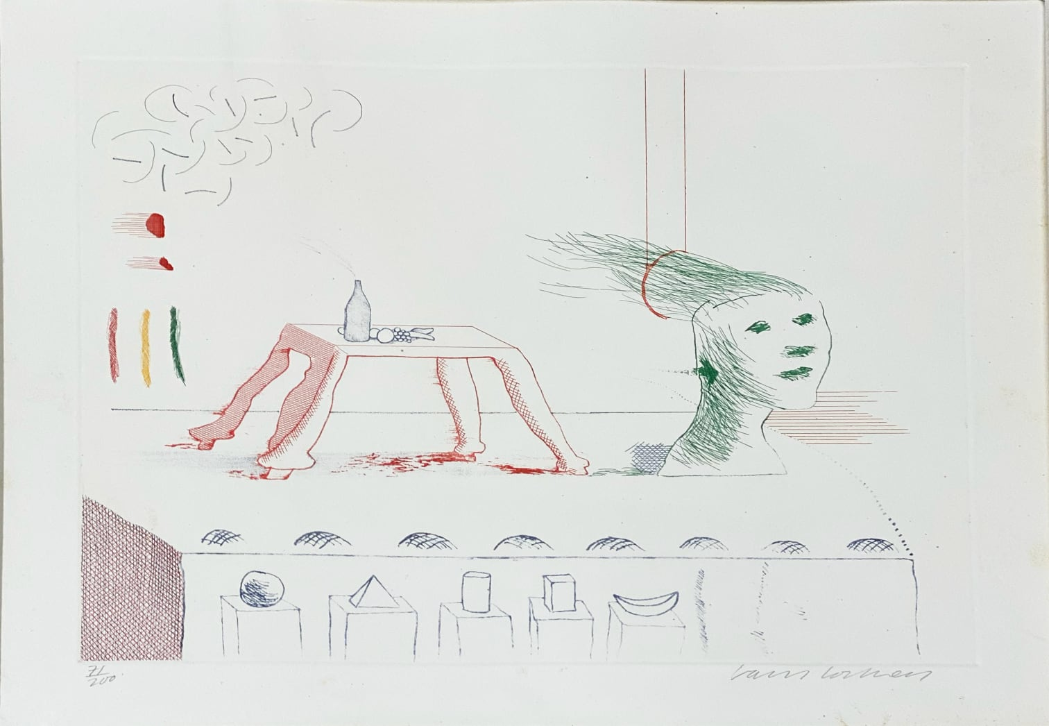 David Hockney - Moving Still Life