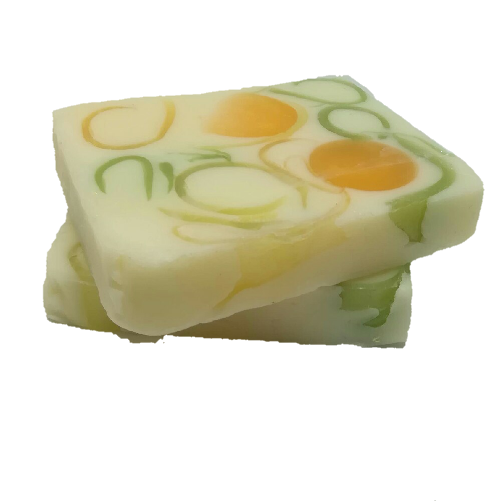 Lime Basil and Mandarin Solid Shower Bar, Vegan, Vegetarian