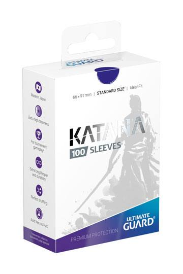 Ultimate Guard Blue Katana Sleeves (100 ct.)