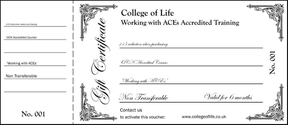 College of Life Gift Certificate