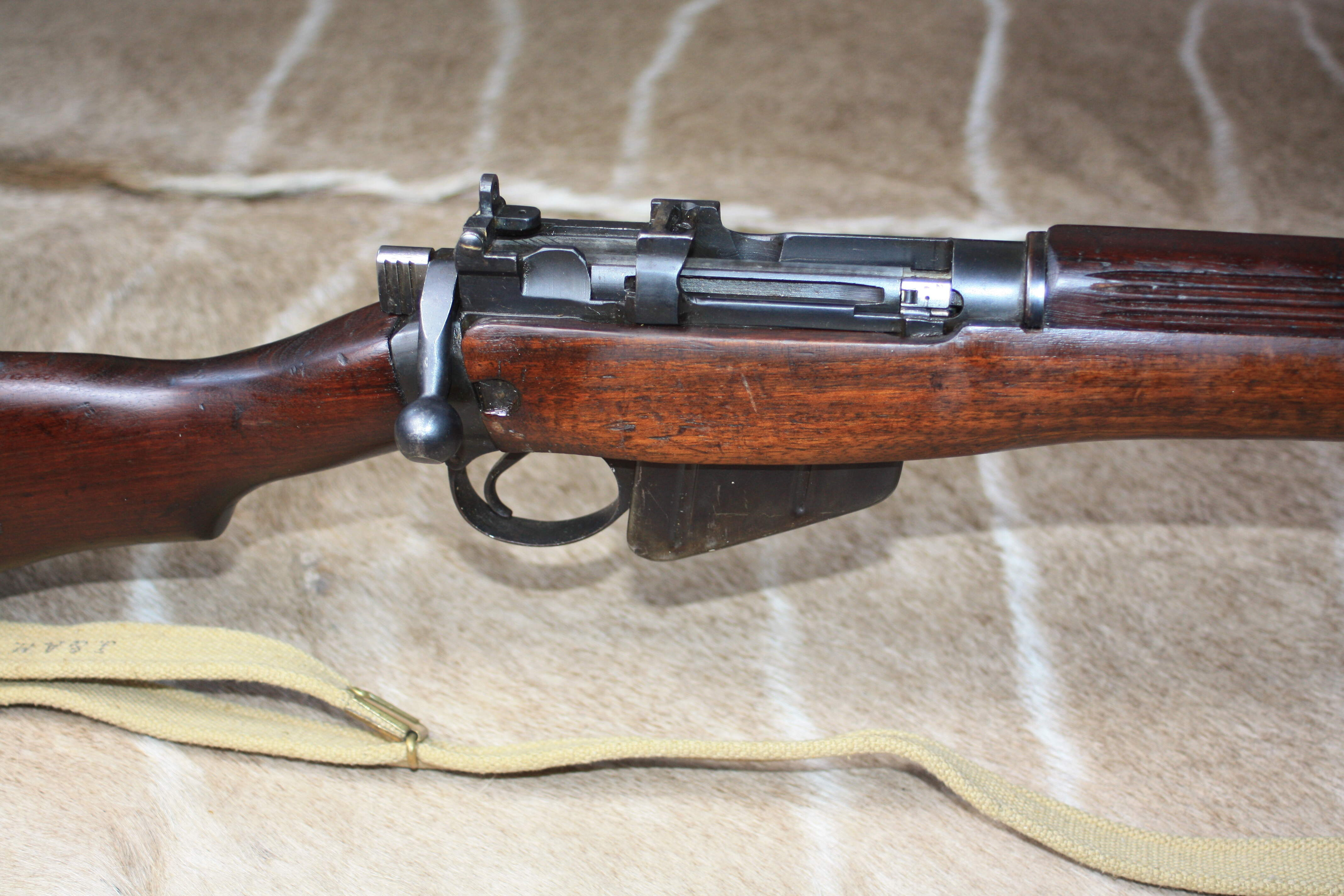 Lee Enfield No4 Mk1* Longbranch 303 Bolt Action Service Rifle
