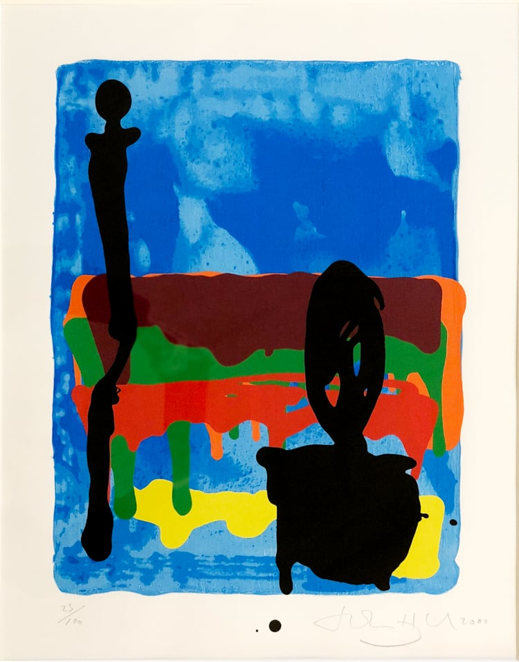 John Hoyland - Untitled