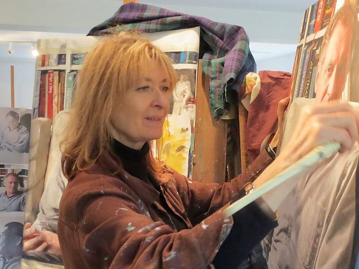 Fiona Graham-Mackay painting tutor