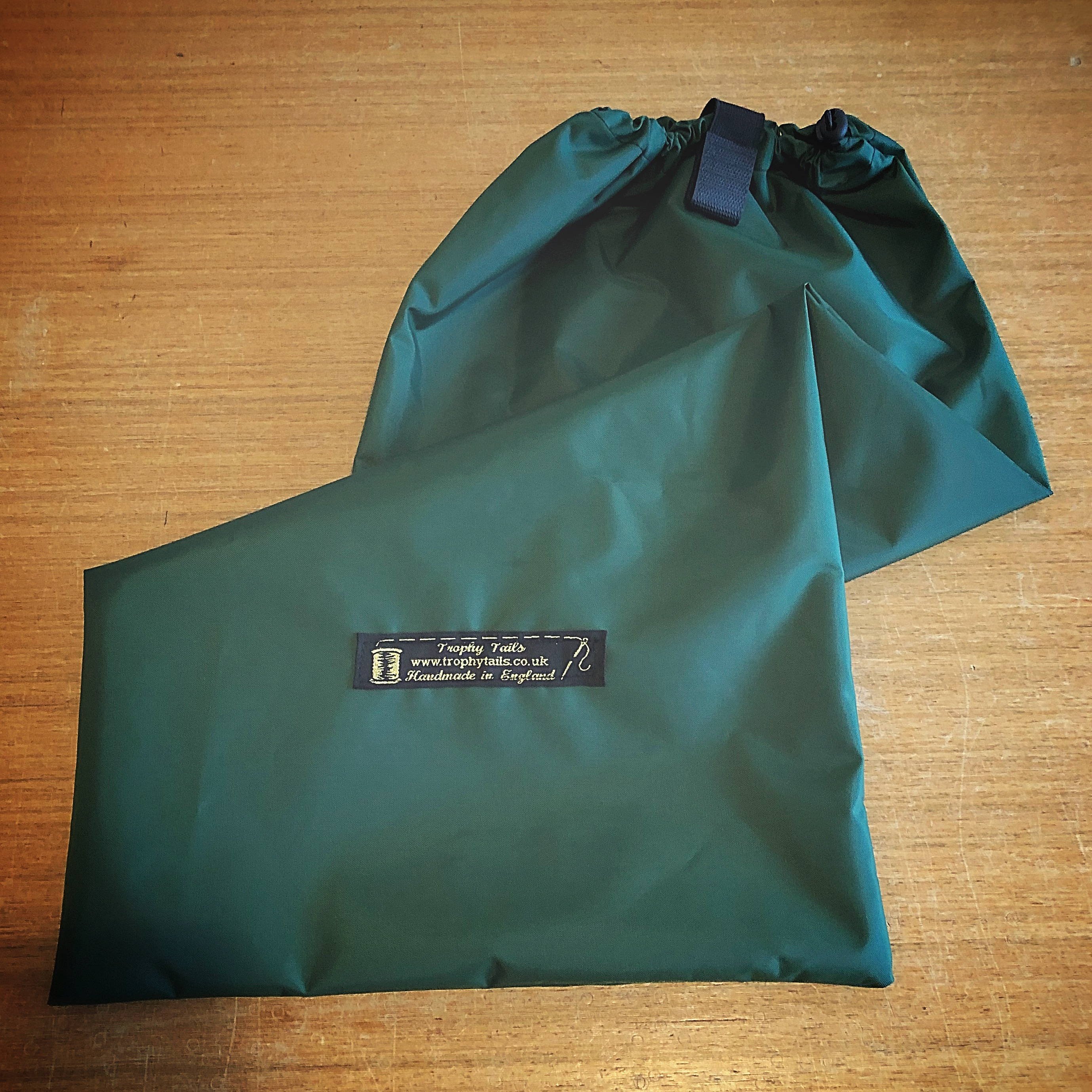 Heavy Duty Waterproof Tail Bag - Bottle Green