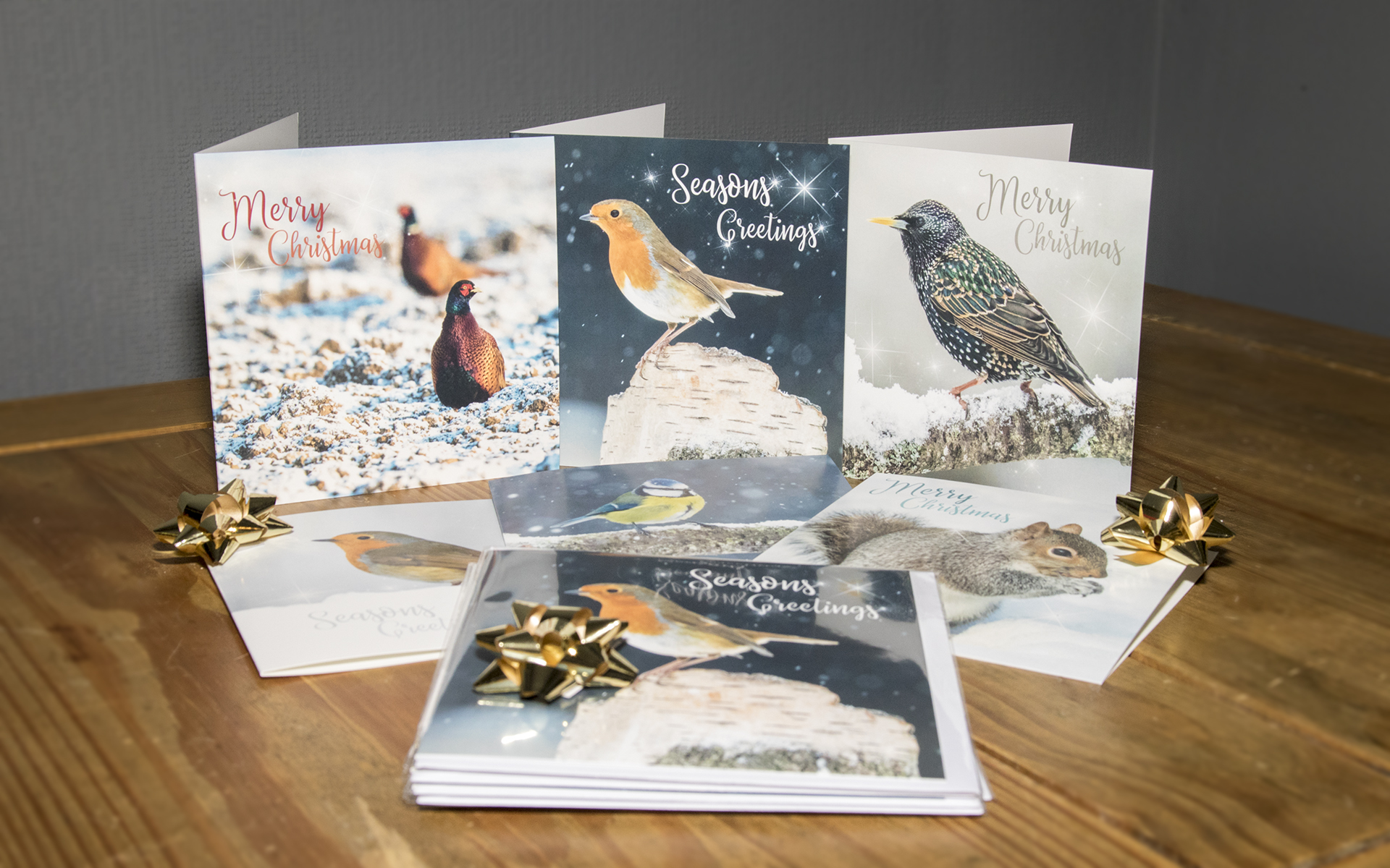 Wildlife In Winter - Christmas Card Pack