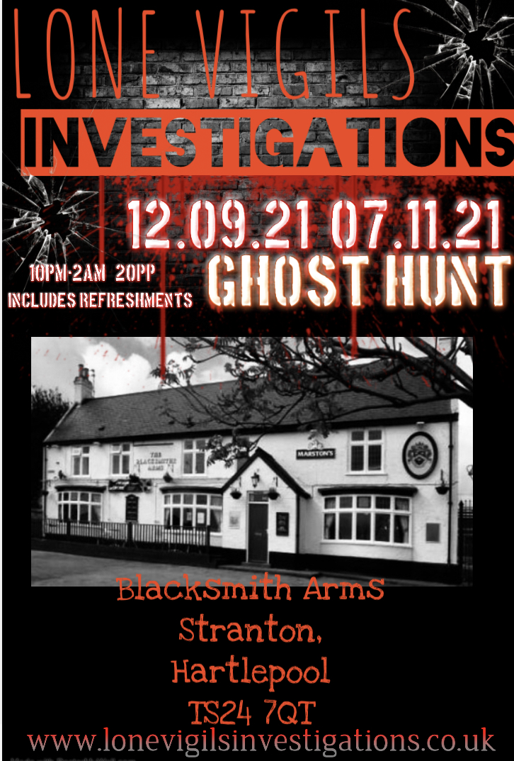 Blacksmith Arms 2021 dates