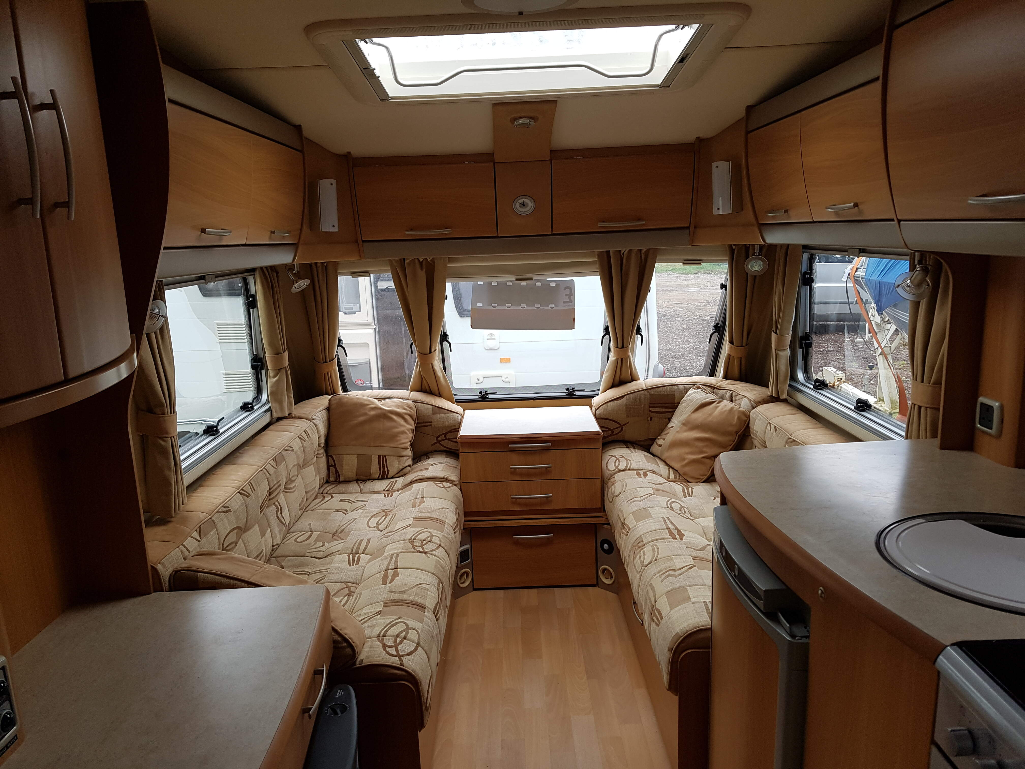 NOW SOLD 2006 Swift Challenger 480 2 Berth End Washroom Caravan with Awning