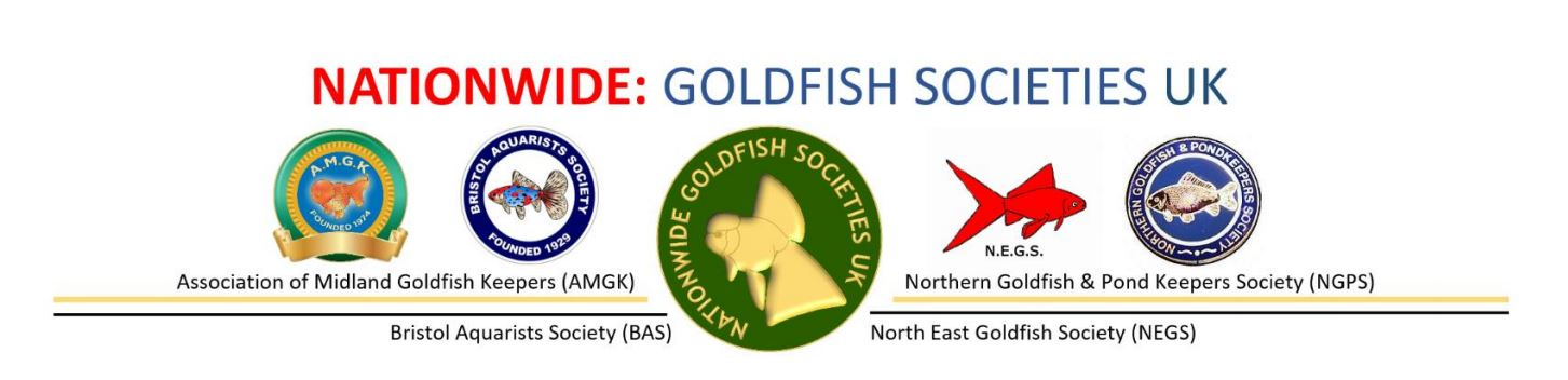 Nationwide Goldfish Societies UK