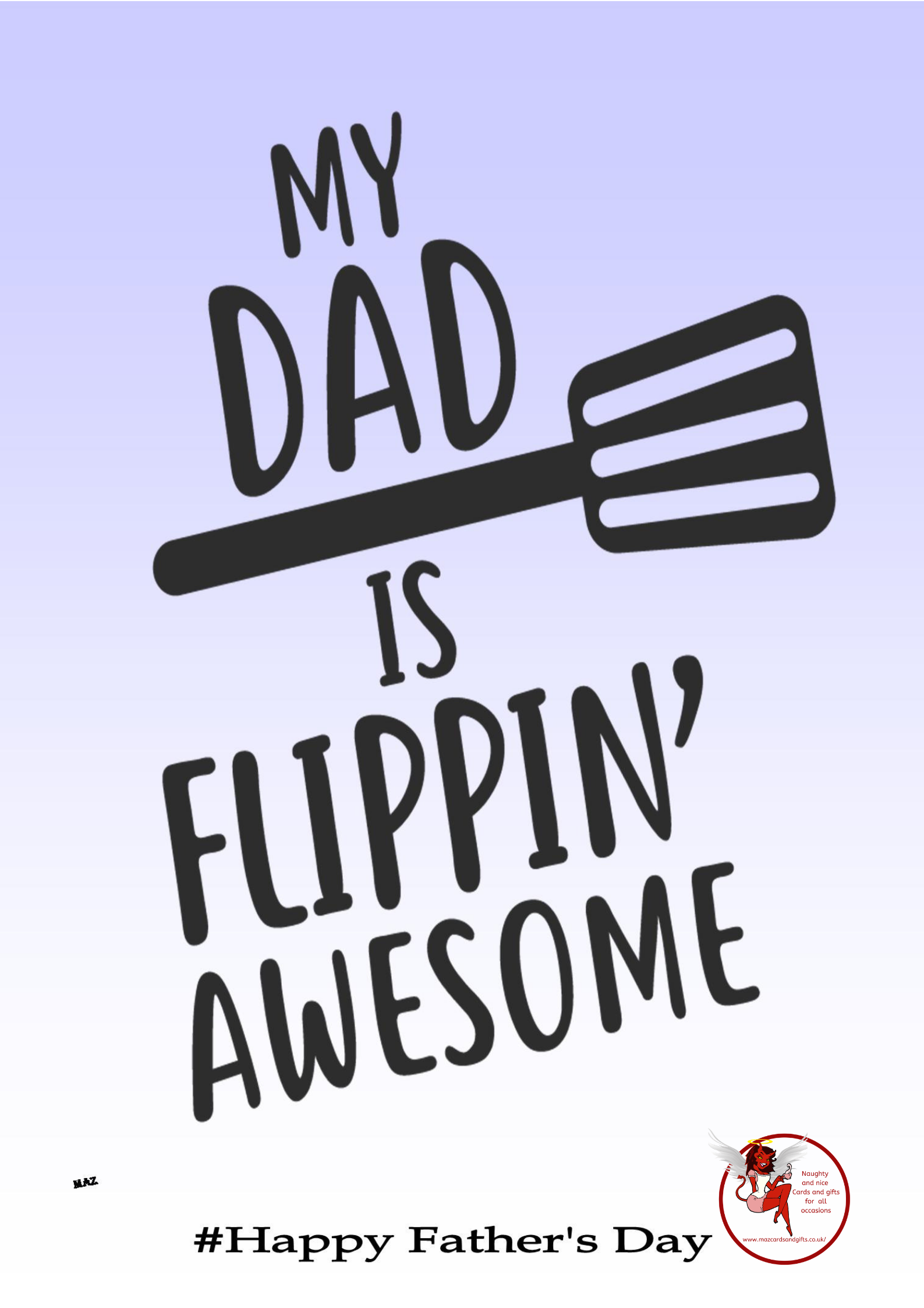 Father's day - Awesome dad - Order No 060