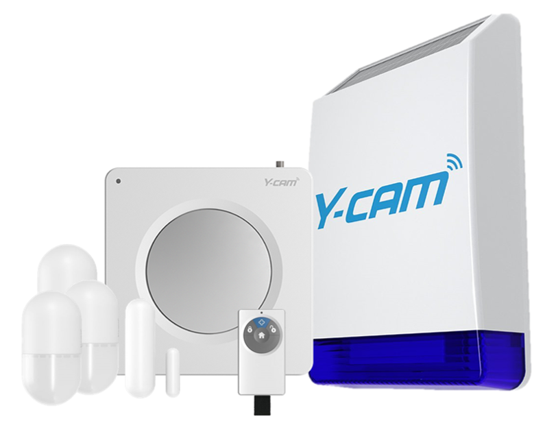 Y-cam Protect Family Secure Pack