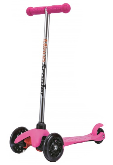 3 Wheels Scooter - Pink