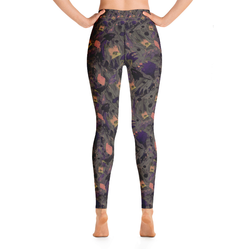 Dark Waves Yoga/Active Leggings