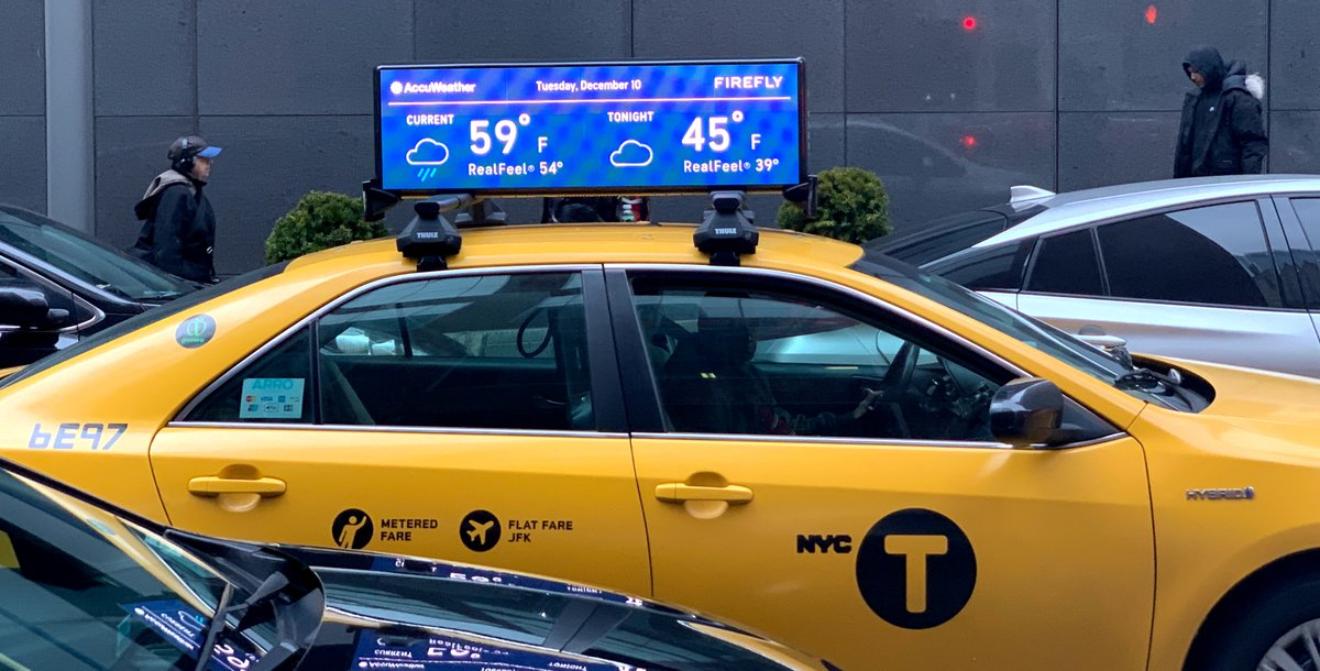 Firefly acquires Ballantyne Strong, Inc.'s remaining taxi-top advertising business