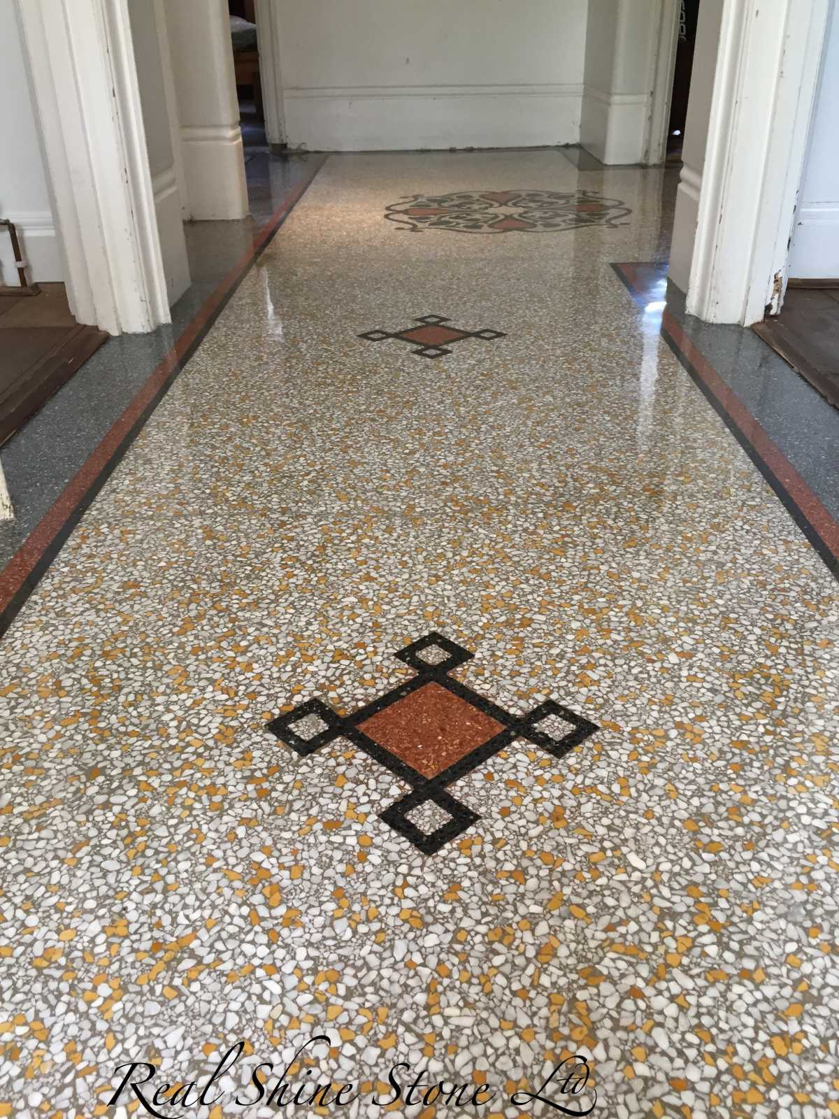 Terrazzo restoration in Cricklewood, London