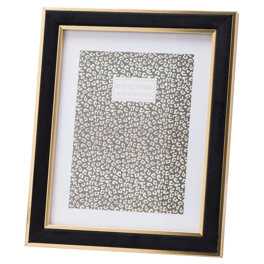 Black Velvet Picture Frame - 8 x 10 inches