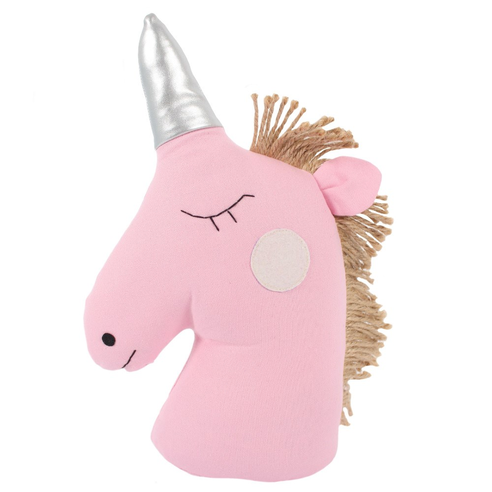PINK UNICORN DOOR STOP