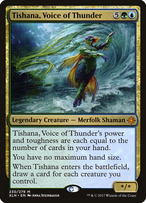 Tishana, Voice of Thunder
