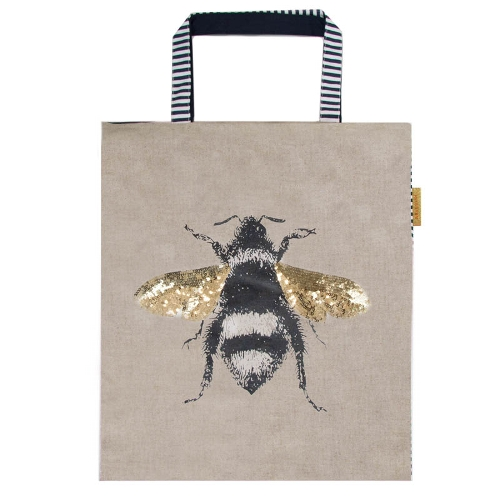 Sequin Bee Shopper - Product Code ARTE003