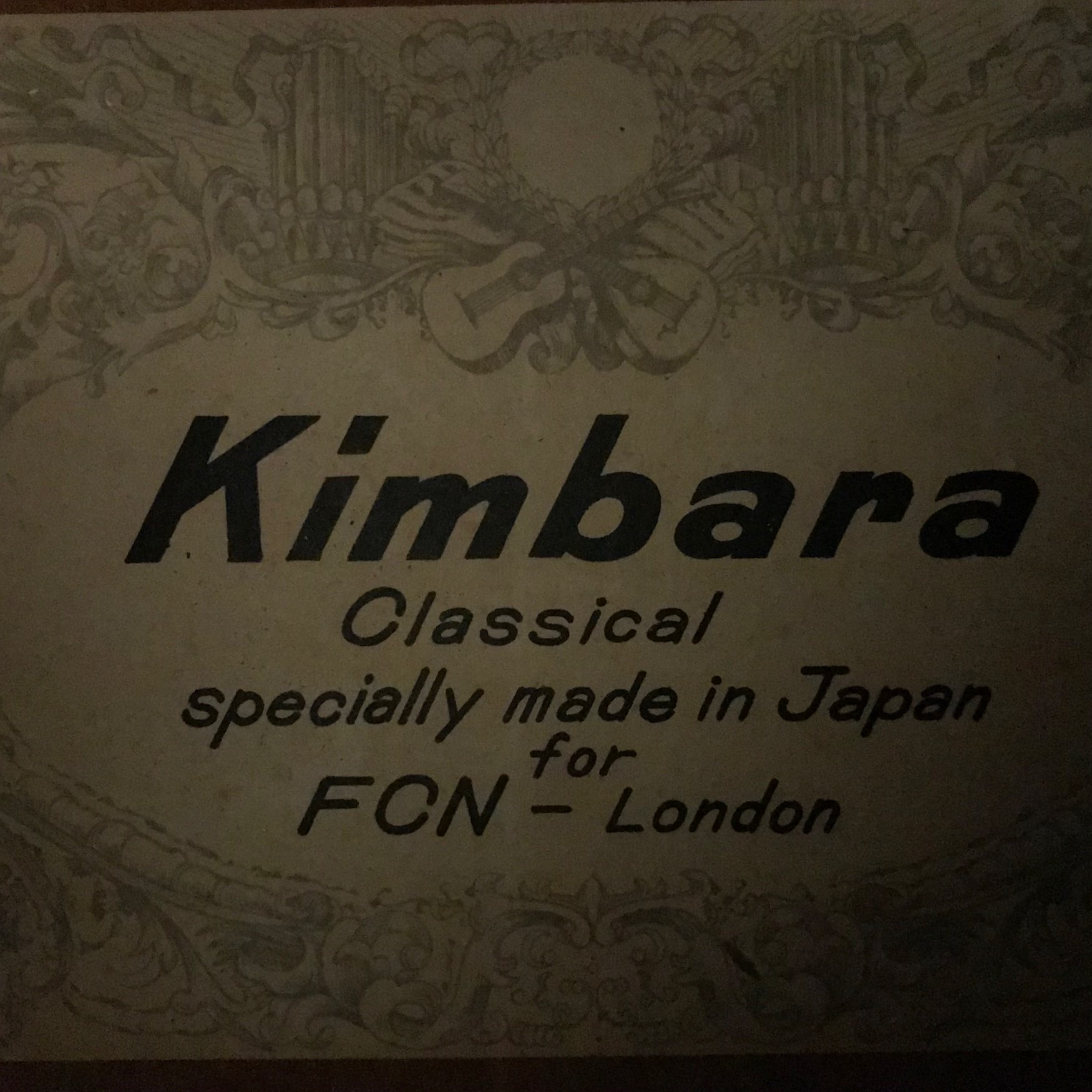 Vintage Kimbara FCN Import Model