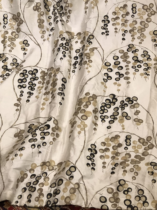 Harlequin Eyelet Silk/Velvet Interlined Curtains W334 D234
