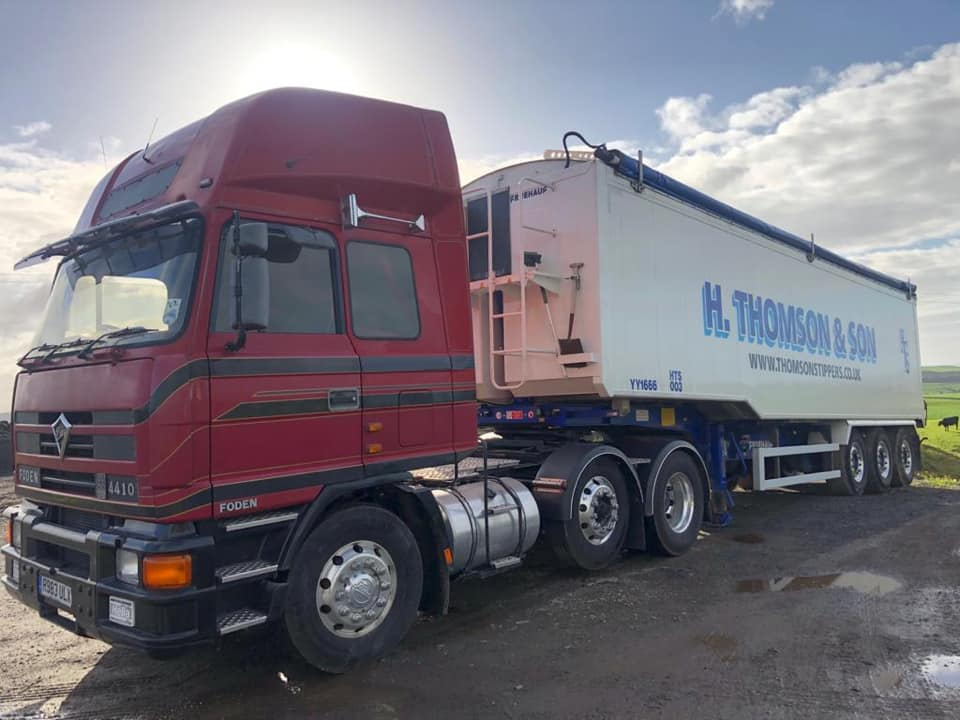 The latest wagon to join the Thomson's Tippers fleet in September 2020