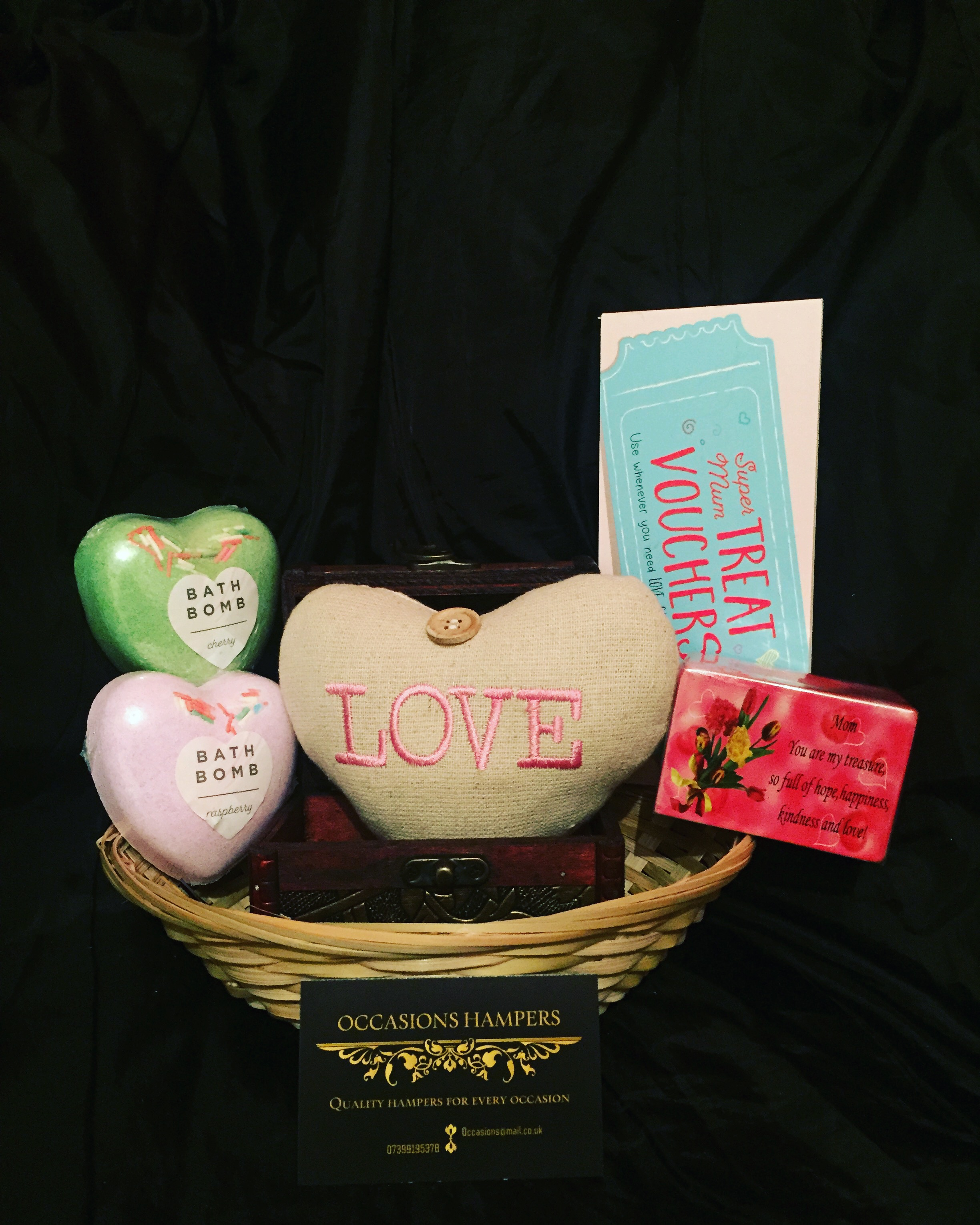 "Mum ""Love"" Gift Baskets"