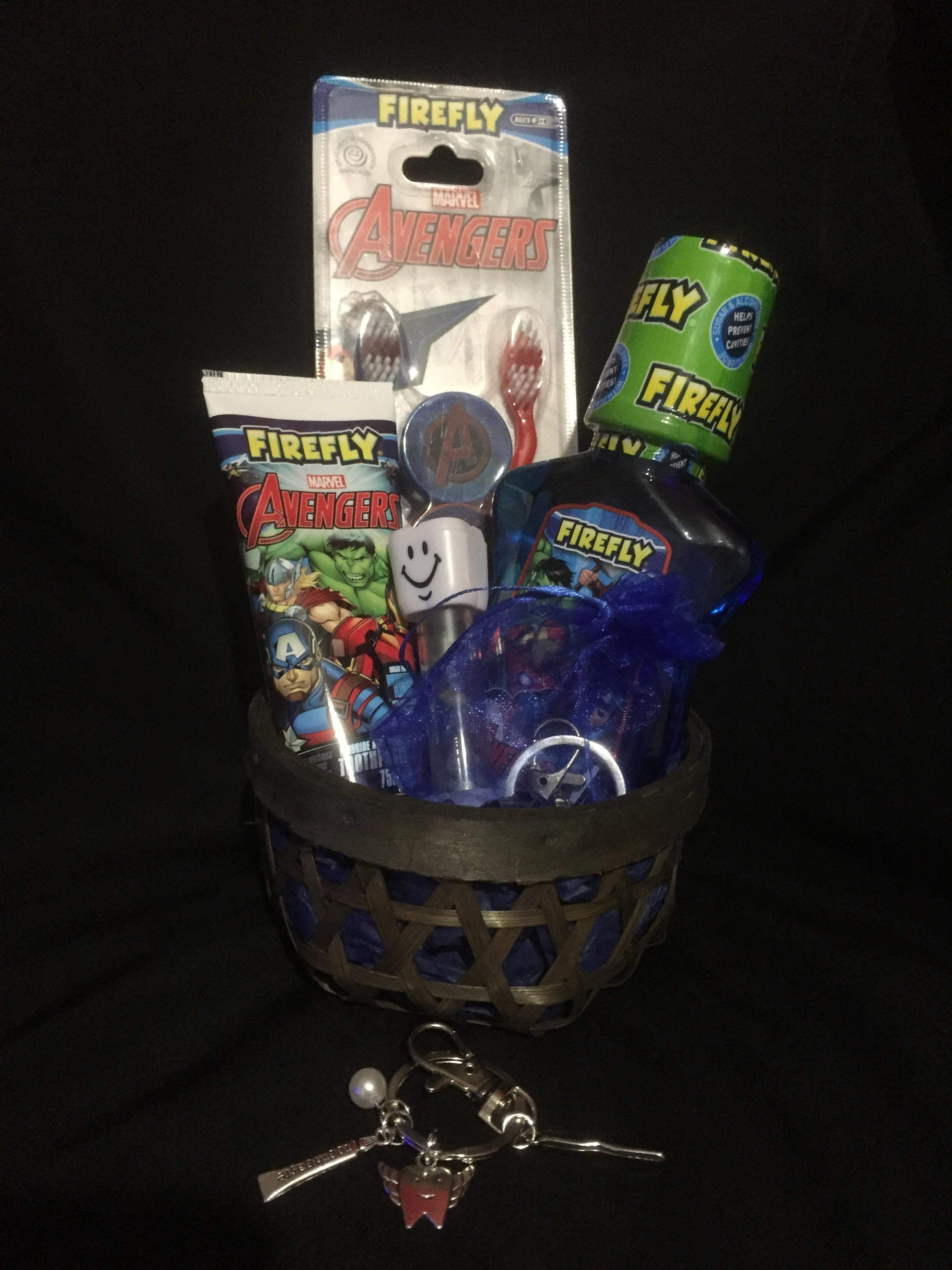 Tooth Buddy Gift Baskets (LOL ✨AVENGERS ✨PEPPA PIG)