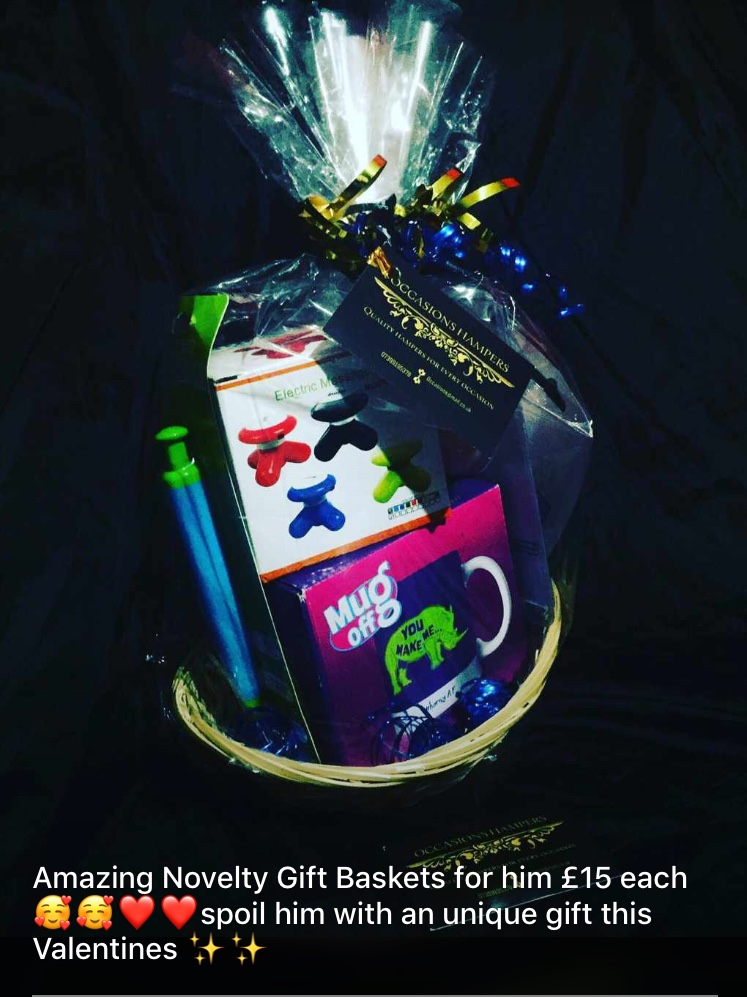 Novelty Valentines Gift Baskets For Him #1