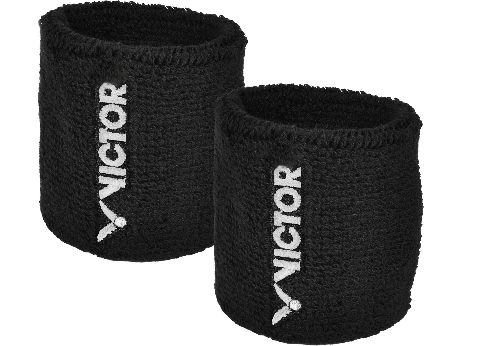 VICTOR Wristband - black - 2 Blister