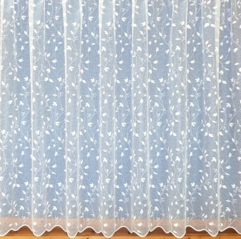 "TULIP NET CURTAIN - 160cm (63"") length"