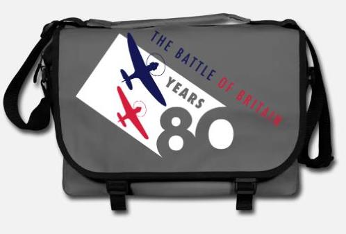 The Battle of Britain 80th Anniversary messenger bag