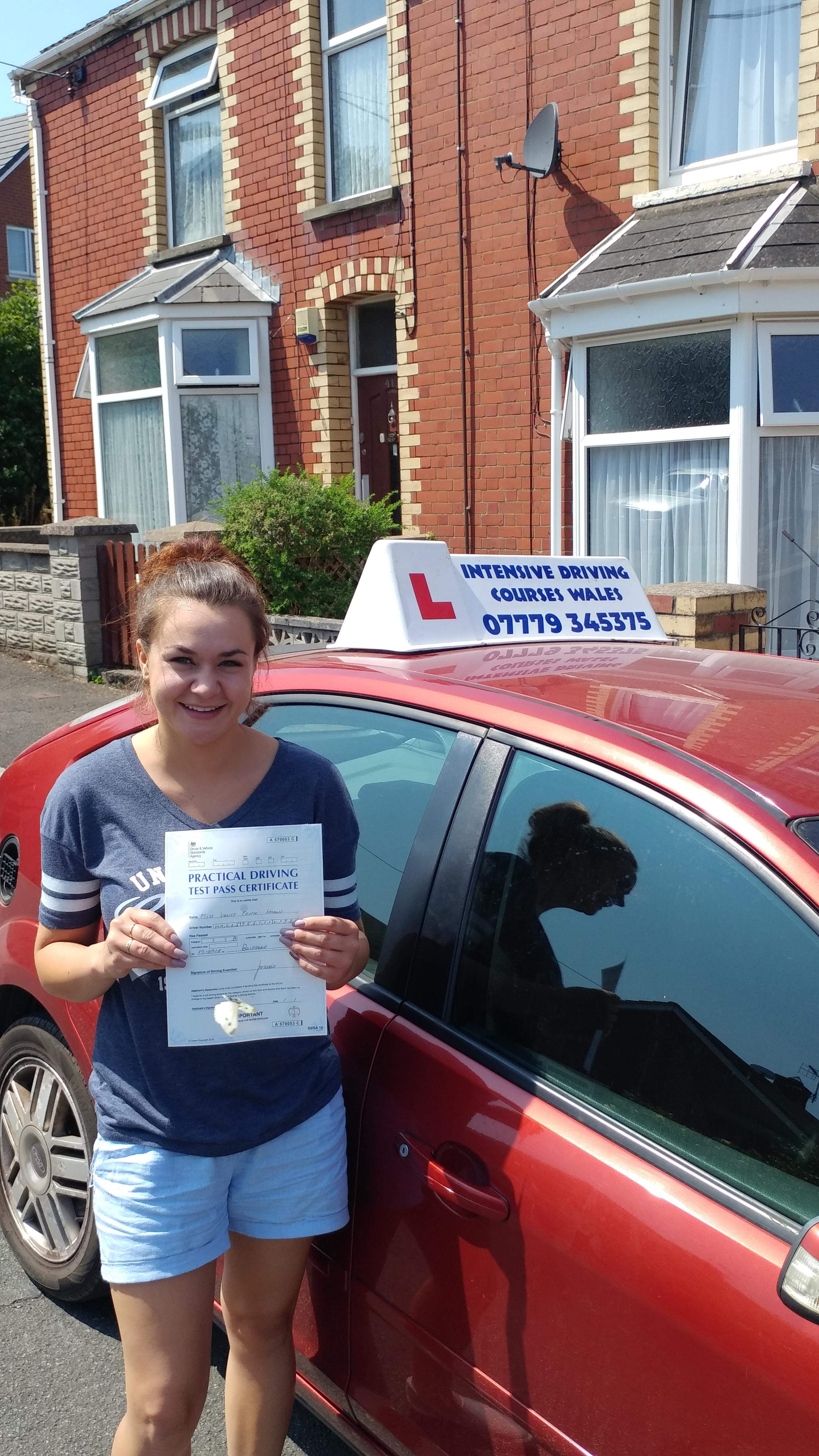 Pass your driving test 1st time with an intensive driving course in Cardiff