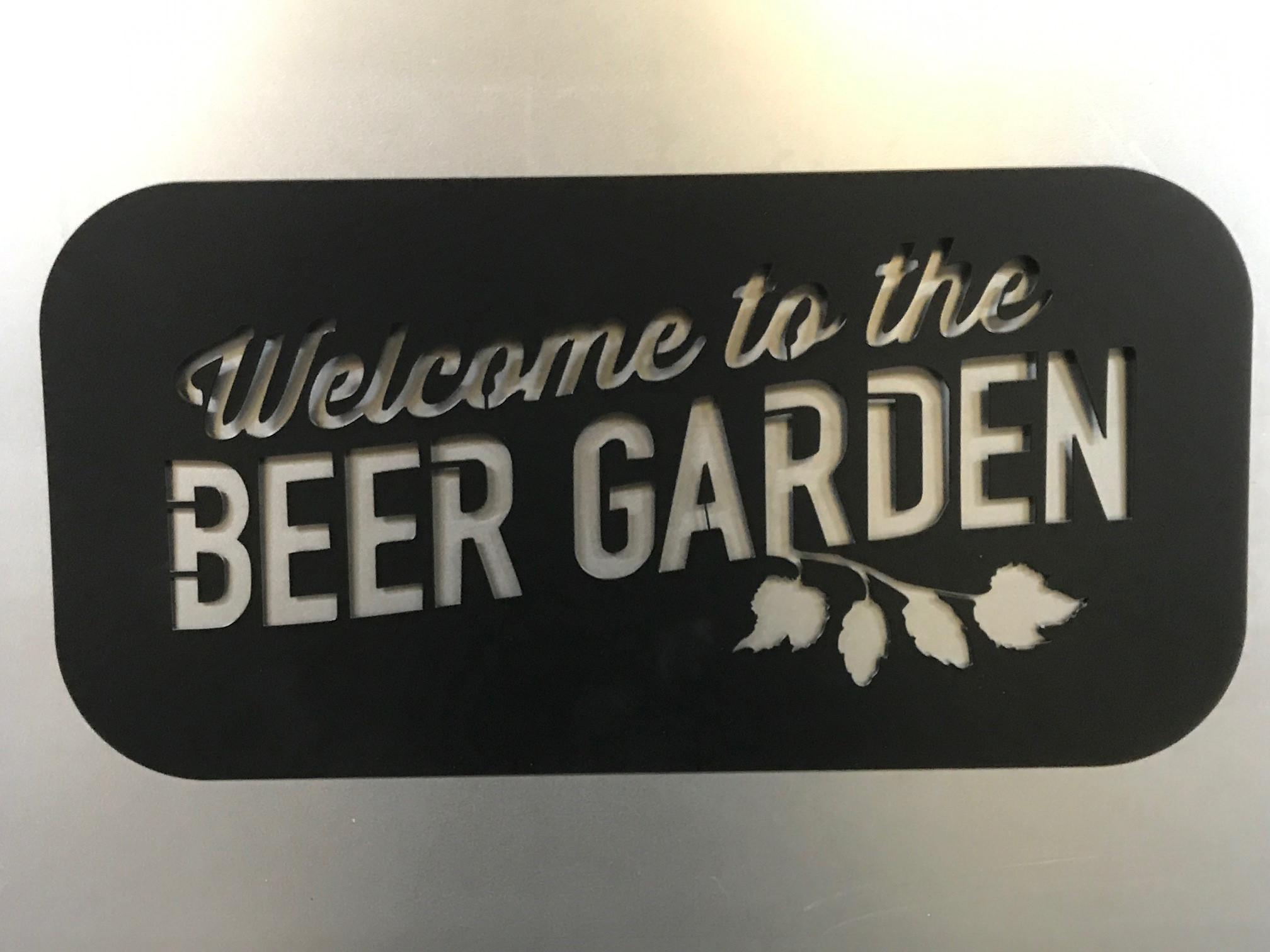 Welcome To The Beer Garden