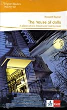 cover illustration of spooky house at night for the novel House of Dolls