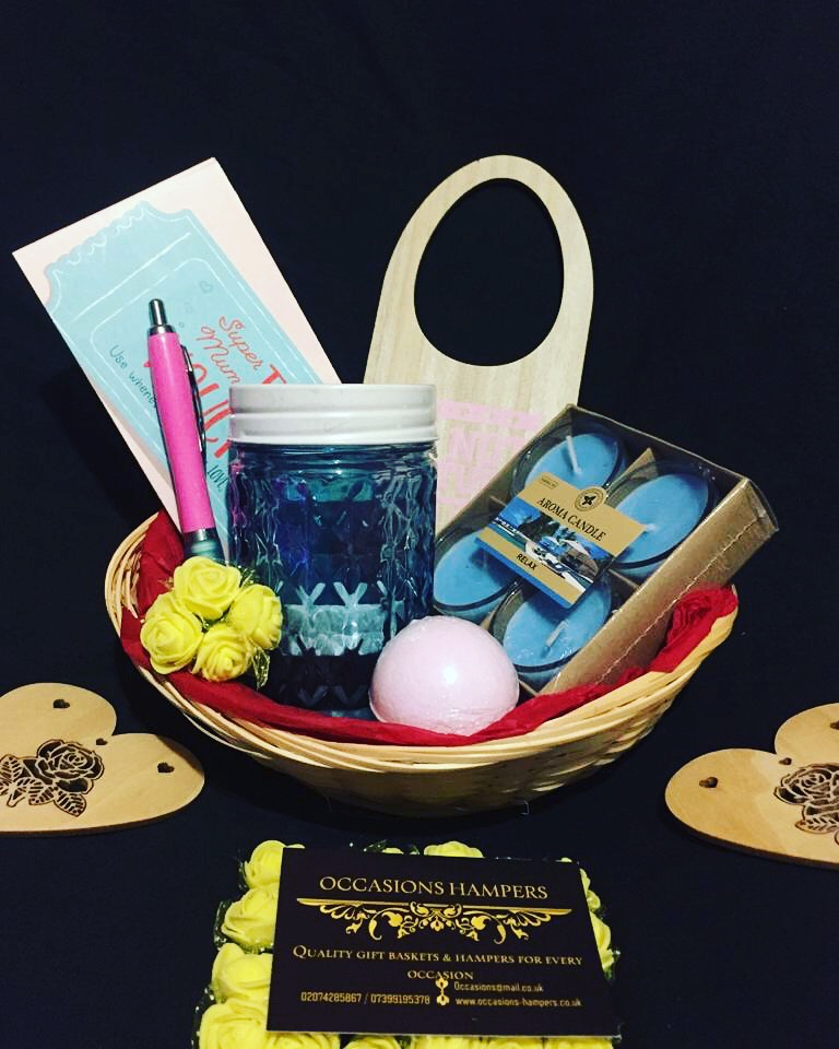 Mother's Day Pamper Gift Basket
