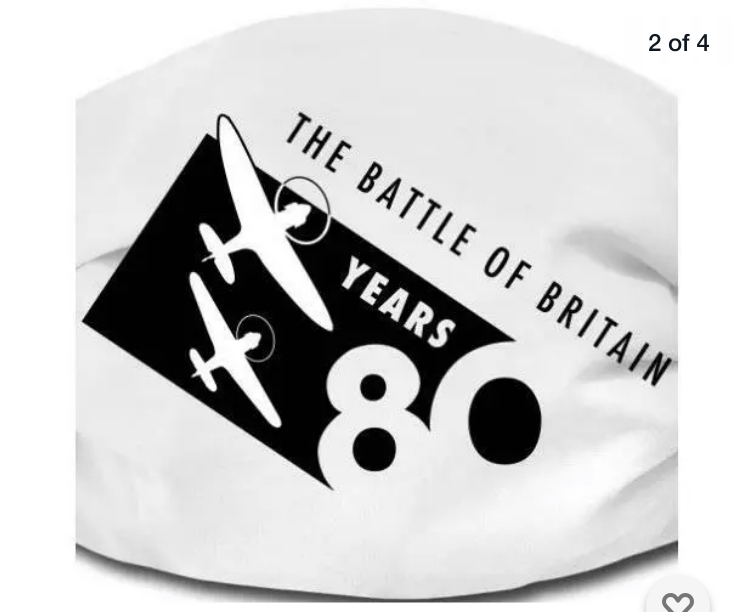 The Battle of Britain 80th Anniversary face mask