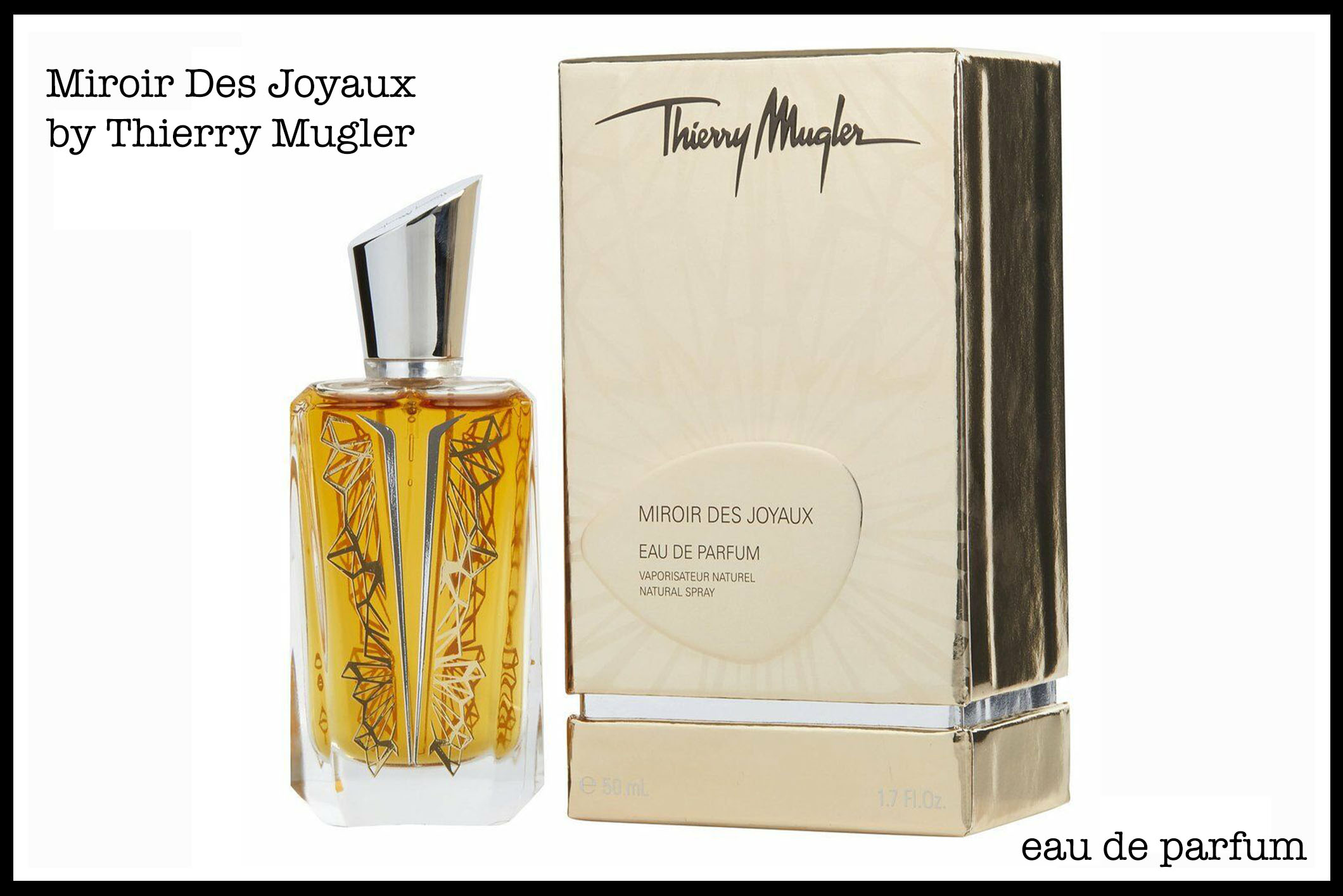 "I've just tried ""Miroir Des Majestes"" the eau de parfum."