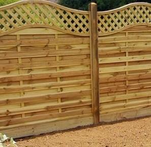 Euro Style Fence Panels Essex Kent London Hertfordshire